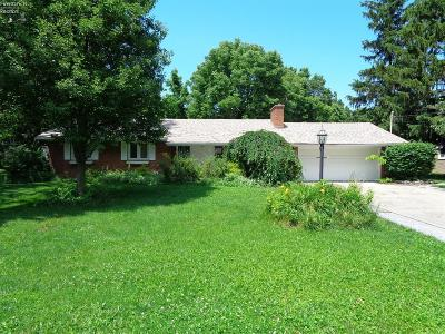 Port Clinton Single Family Home For Sale: 4311 E Linda Drive