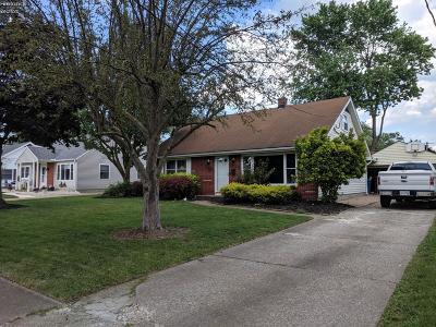 Port Clinton Single Family Home For Sale: 745 Taft Street