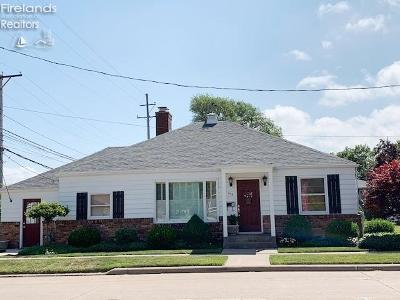 Port Clinton Single Family Home For Sale: 615 Jefferson Street