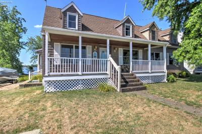 Sandusky Single Family Home For Sale: 211 Cedar Point Road