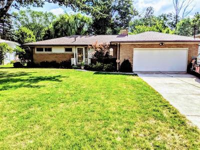 Sandusky Single Family Home For Sale: 2606 Eastwood Drive
