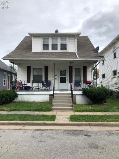 Sandusky Single Family Home For Sale: 321 Center Street