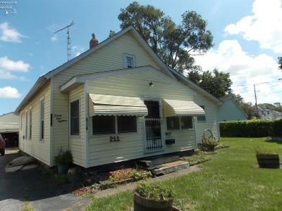 Sandusky Single Family Home For Sale: 2118 Wayne Street
