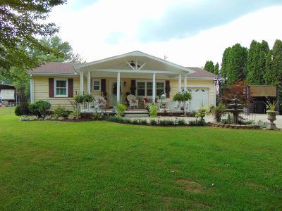 Single Family Home For Sale: 7697 Gallia Pike
