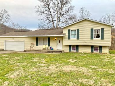 Lucasville Single Family Home For Sale: 2191 Millers Run Fallen Timber