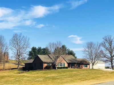Wheelersburg Single Family Home For Sale: 501 Kittle Road