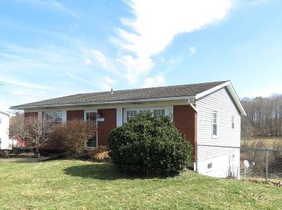 Wheelersburg Single Family Home For Sale: 2619 Clover Lane