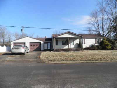 Single Family Home For Sale: 100 Coriell Road
