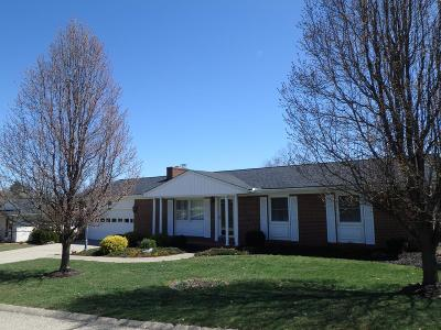 Wheelersburg Single Family Home For Sale: 1168 Candlewood Drive