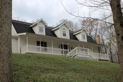 Single Family Home For Sale: 586 Allegheny Hill Rd