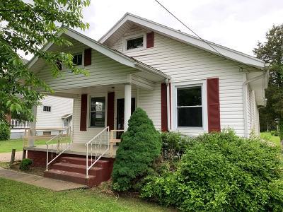 Wheelersburg Single Family Home For Sale: 1179 Gleim Road