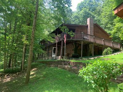 South Webster Single Family Home For Sale: 652 Laurel Lick