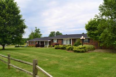 Wheelersburg Single Family Home For Sale: 65 Turkey Foot Rd.