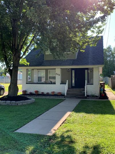 Wheelersburg Single Family Home For Sale: 8434 Granite St.