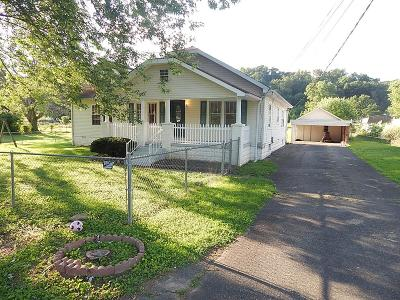 Minford Single Family Home For Sale: 8791 St Rt 139