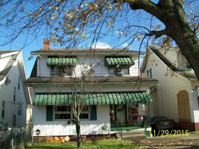 Single Family Home For Sale: 1720 High Street