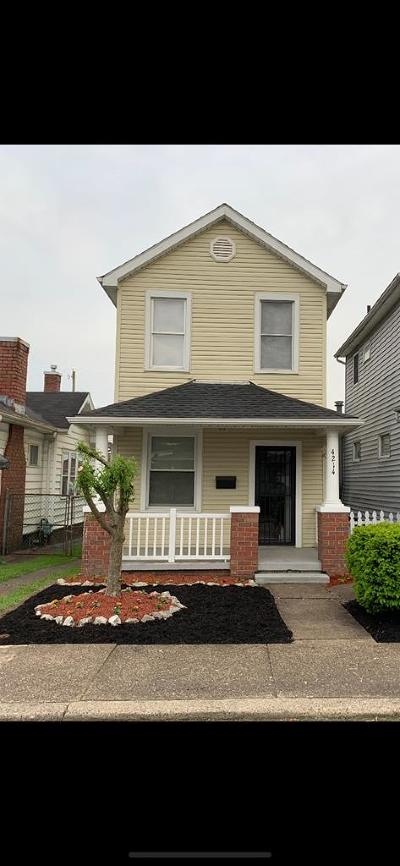 New Boston Single Family Home For Sale: 4214 Spruce Street