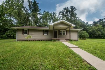 Lucasville Single Family Home For Sale: 548a Flatwood Fallen Timber