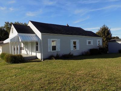 Wheelersburg Single Family Home For Sale: 815 Stennett