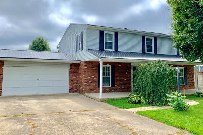Wheelersburg Single Family Home For Sale: 2233 Woodcrest Drive