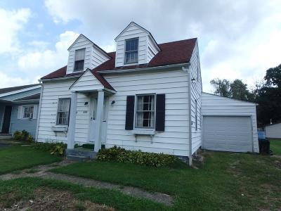 Wheelersburg Single Family Home For Sale: 8532 Granite Street