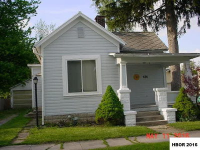 Findlay Single Family Home For Sale: 636 Cherry St