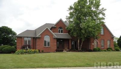 Findlay OH Single Family Home For Sale: $439,900