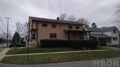 Fostoria Multi Family Home For Sale: 211/213 Culbertson