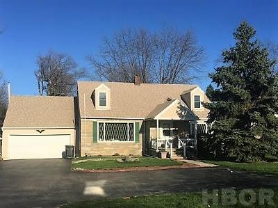 Findlay OH Single Family Home For Sale: $122,500