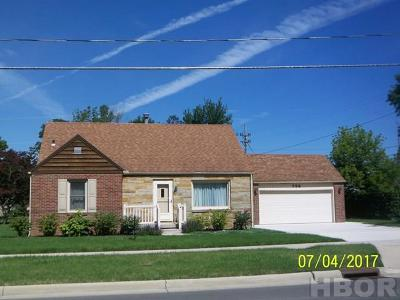Findlay OH Single Family Home For Sale: $133,500