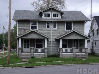 Findlay OH Multi Family Home For Sale: $120,000