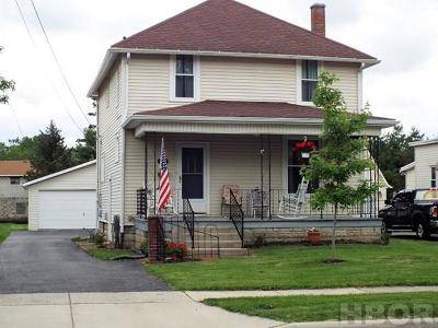 Findlay OH Single Family Home For Sale: $123,900
