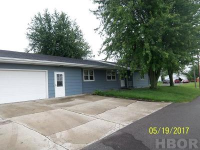 Van Buren OH Single Family Home For Sale: $99,000