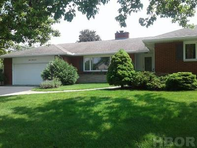 Findlay OH Single Family Home For Sale: $167,900