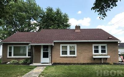 Arlington OH Single Family Home For Sale: $104,900