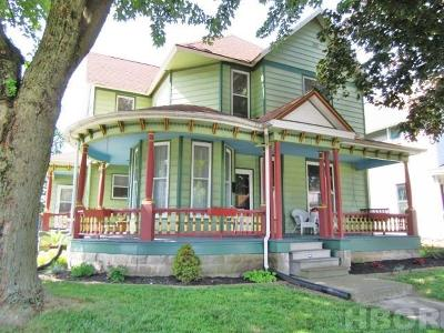 Findlay OH Multi Family Home For Sale: $122,000