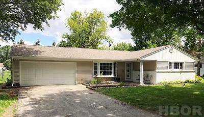 Fostoria Single Family Home For Sale: 1410 Morningside