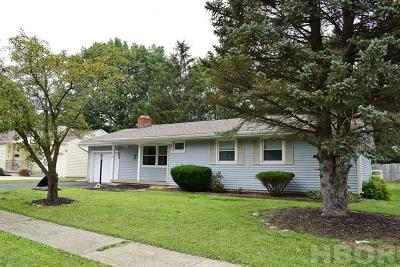 Findlay OH Single Family Home For Sale: $117,900