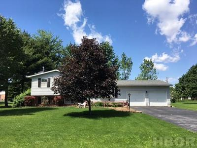 Arlington OH Single Family Home For Sale: $149,900