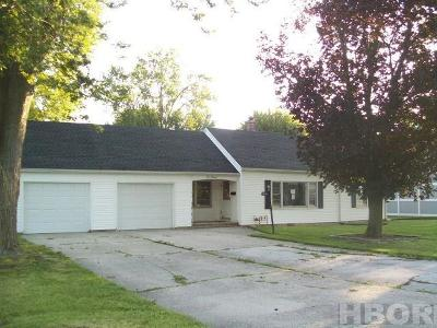 Findlay OH Single Family Home For Sale: $85,000