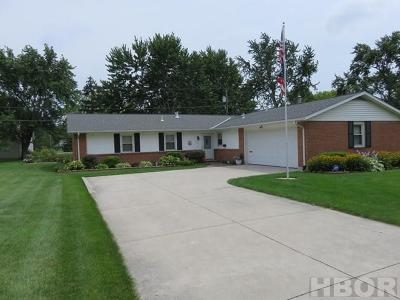 Findlay OH Single Family Home For Sale: $169,900