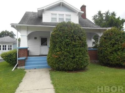 Findlay OH Single Family Home For Sale: $95,000