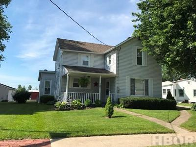 Benton Ridge OH Single Family Home For Sale: $129,975