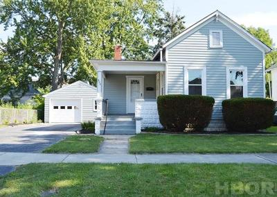 Findlay OH Single Family Home For Sale: $67,500