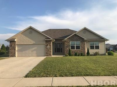 Findlay OH Single Family Home For Sale: $244,900