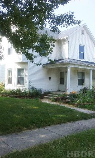 Single Family Home For Sale: 501 W Culbertson