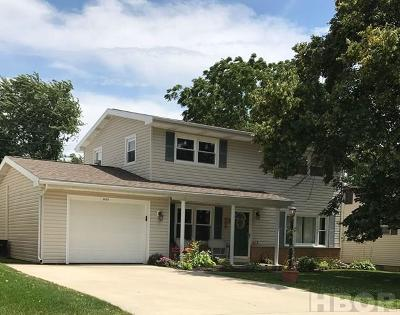 Findlay OH Single Family Home For Sale: $142,000