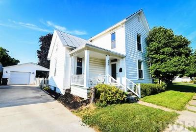 Findlay OH Single Family Home For Sale: $109,900
