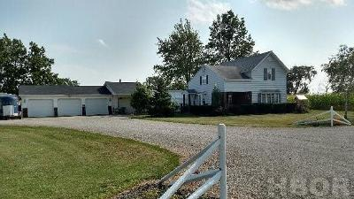 Leipsic OH Single Family Home For Sale: $139,900