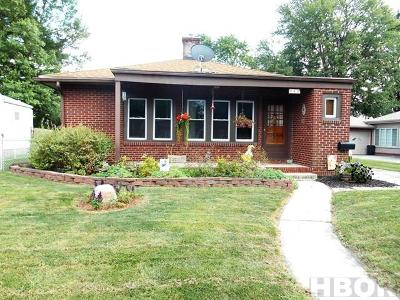 Findlay OH Single Family Home For Sale: $92,900